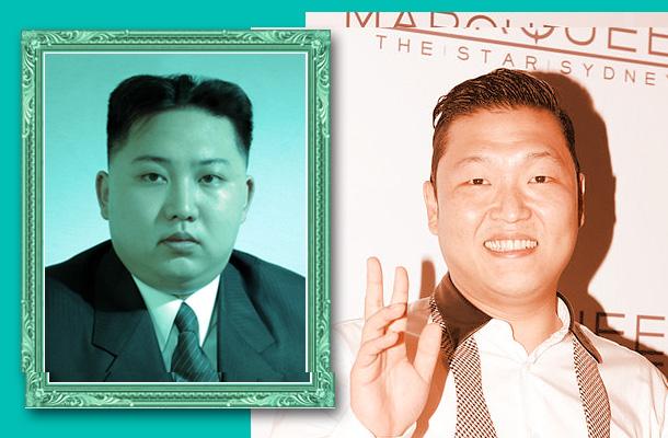 Korean Power: Kim Jong Un / Psy